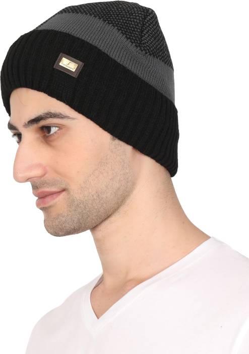 5121bf11eb64 FabSeasons Acrylic Woolen Winter Skull Cap Cap