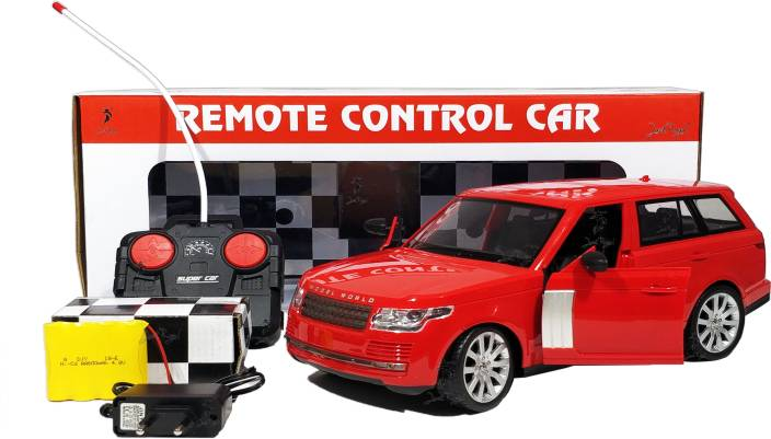 Jack Royal 1:12 Scale Red Range Rover RC Model Full Function Car