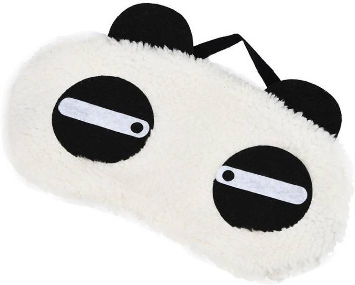e702d30e3dc Jholmaal Panda Sleeping Mask Panda Eye Mask Sleeping Blindfold Nap Cover  (Straight Eyes Panda) Sleeping Mask (100 g)