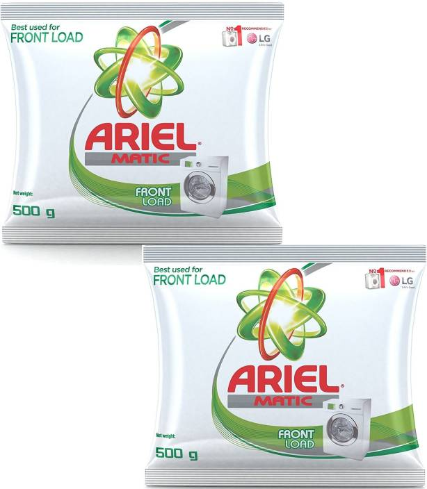 Ariel Detergent Powder (Pack of 2) 1 kg Washing Powder Price