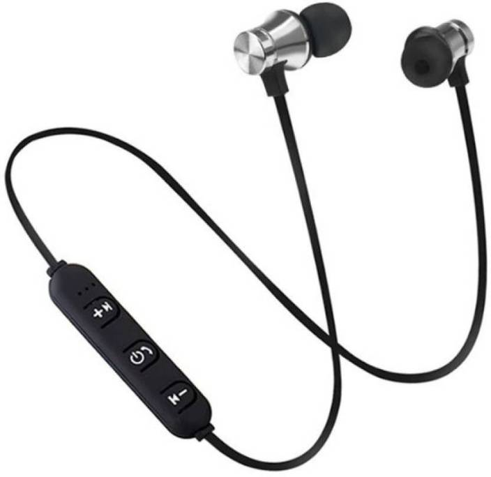 c9c12964640 CALLIE Magnetic Sport Wireless Earphone Bluetooth Headset with Mic (Black,  In the Ear)