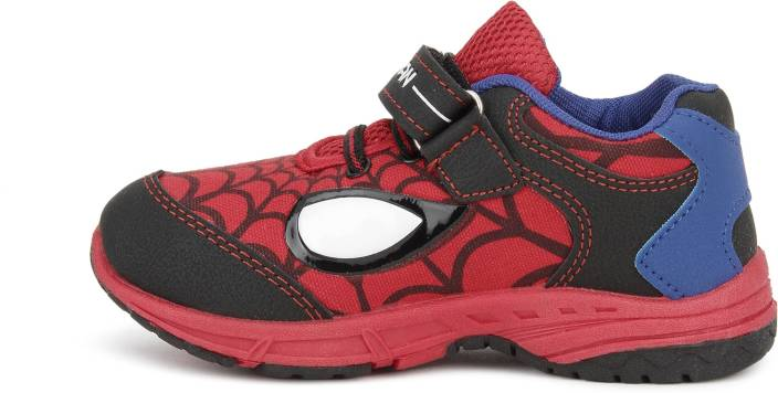 Spiderman Boys Velcro Running Shoes