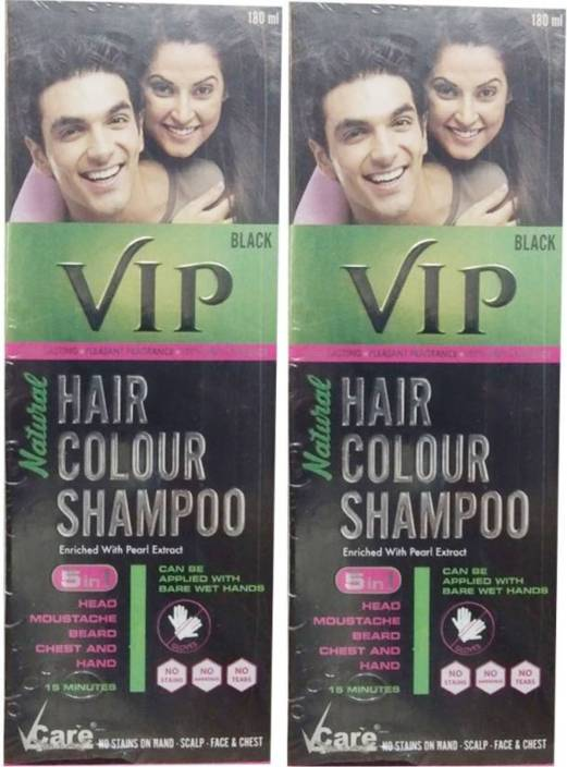 ea1d86baa Vcare VIP Hair Colour Shampoo 5 IN 1 Hair Color - Price in India ...