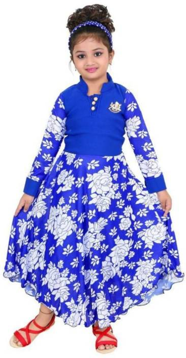 FTC FASHIONS Girls Maxi/Full Length Party Dress