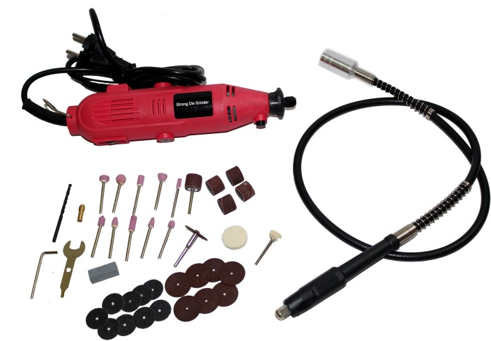 Rotary Electric Grinder Tool W// Accessory Kit 40 PC Craft Wood Carving Set