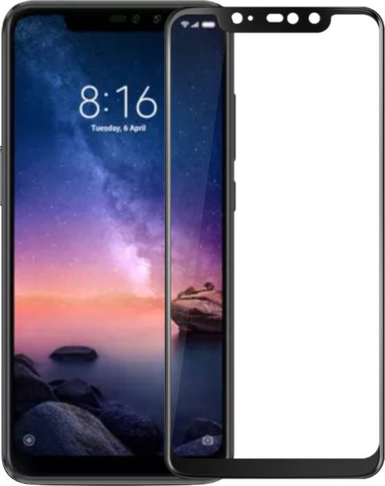 watch 61a68 817bf Case U Edge To Edge Tempered Glass for Mi Redmi Note 6 Pro
