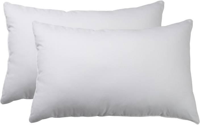 Sleepexpert Plain White Bedsleeping Pillow Pack Of 2 Buy