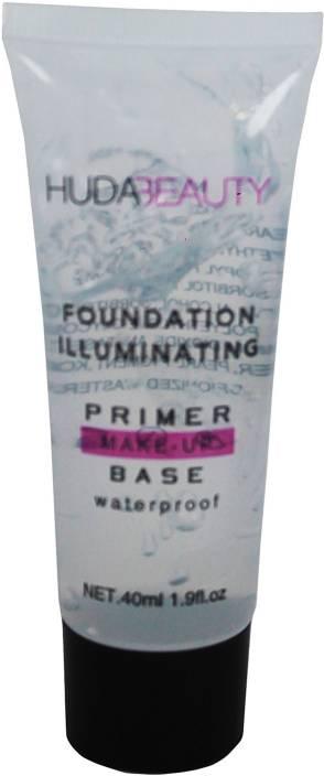 Huda Beauty NEW WATERPROOF FOUNDATION ILLUMINATING PRIMER MAKEUP BASE Primer - 40 ml (TRANSPARENT)