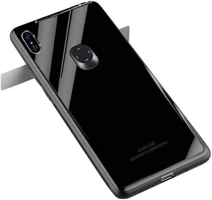 premium selection f5d17 cd62d DHAN GRD Back Cover for Redmi Note 6 Pro Full Mirror View Full Black ...