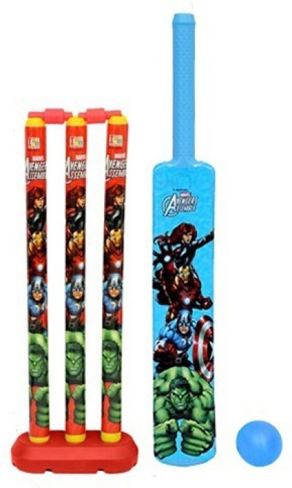 Cricket Set for Kids with Bat /_Ball/_Wickets /_Carrying Bag Indoor Outdoor Garden Play