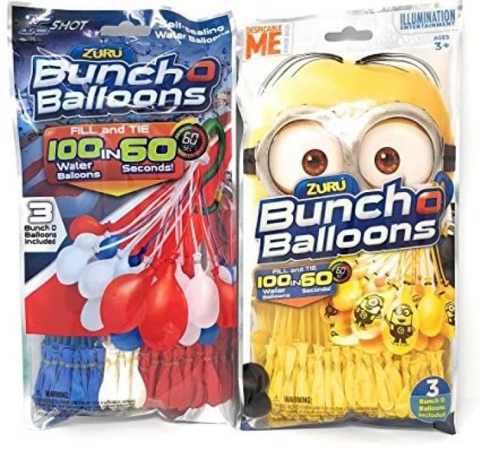 Bunch O Balloons ZURU Self-Sealing Water Bundle - Minions (3 es) and