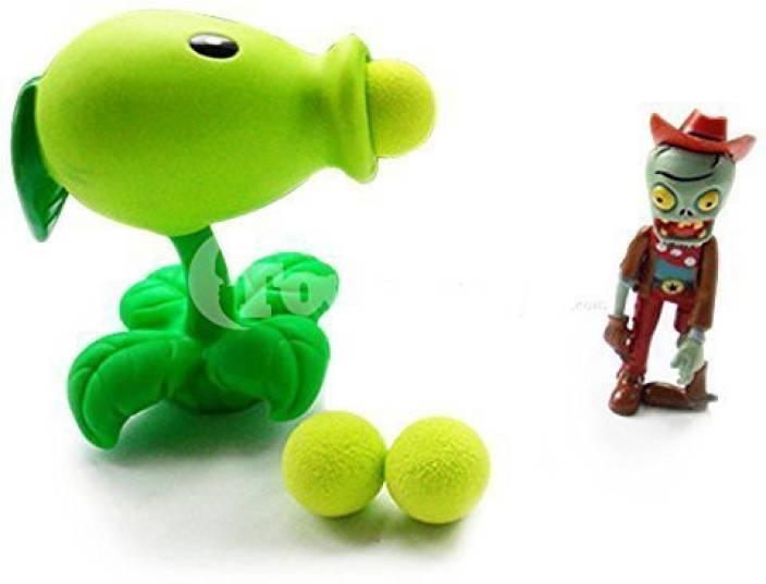Toyswill Plants vs Zombies Peashooter Popper - Plants vs