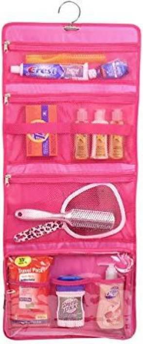 Genrc Yofi Nurture Yourself Hanging Toiletry Bag Organizer For