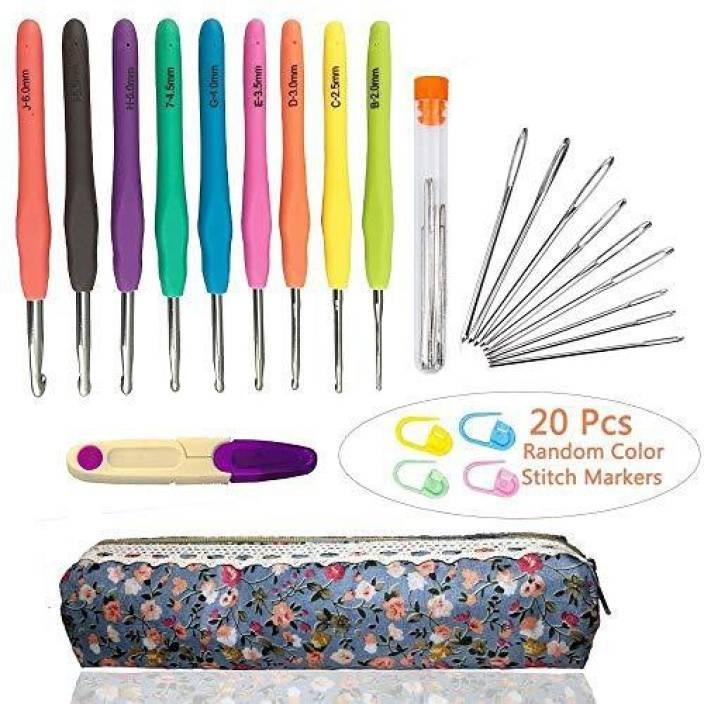Ch Haicheng 40 Pcs Crochet Needles And Crochet Hooks Setcrochet
