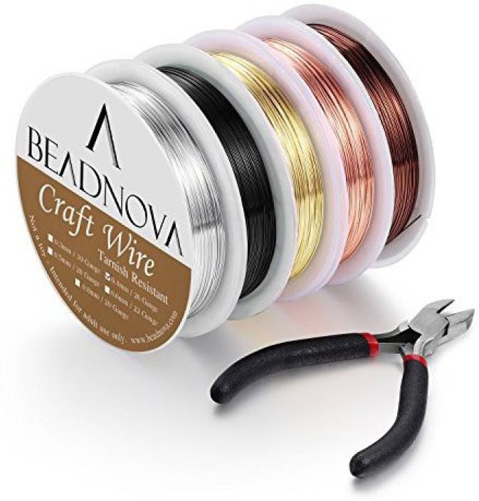 BEADNOVA Beading Wire For Jewelry Making Supply For Jewelry