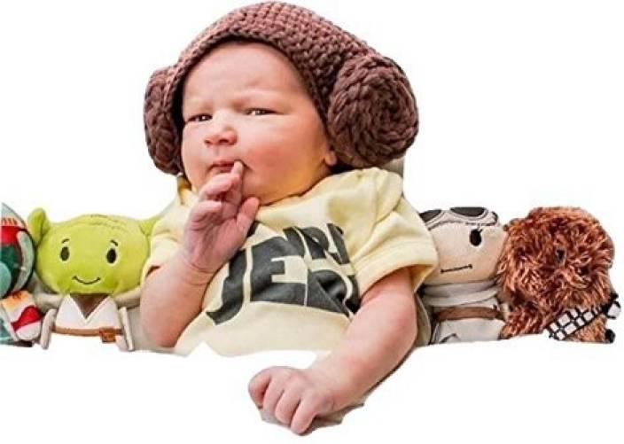 Knitnutbyjl Star War Handmade Baby Princess Leia Hat - Fits 0-3 Month Baby  - Star War Handmade Baby Princess Leia Hat - Fits 0-3 Month Baby . shop for  ... 14eeed58290