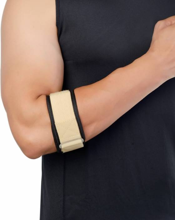 a3a0c100dd Dyna Tennis Elbow Brace Elbow Support (Free Size, Beige) - Buy Dyna ...