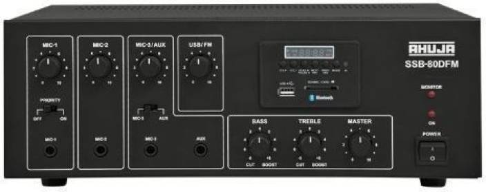 Ahuja SSB-80DFM with Bluetooth 80 W AV Power Amplifier