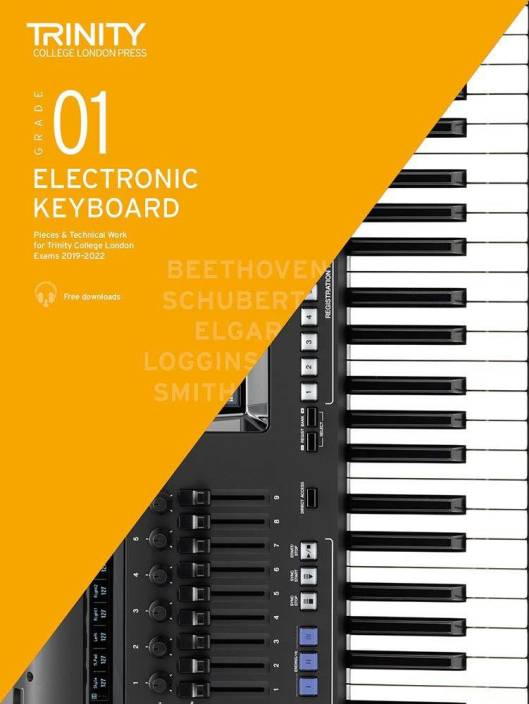 Trinity College London Electronic Keyboard Exam Pieces & Technical