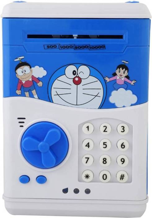 Vnex Battery Operated Mini ATM Safe Kids Piggy Saving ATM