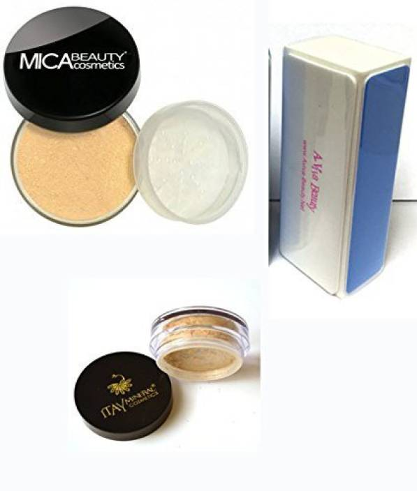 0886acc5f8a3 Micabeauty Bundle 3 Items: Mica Beauty Mineral Foundation Mf-7 Lady ...