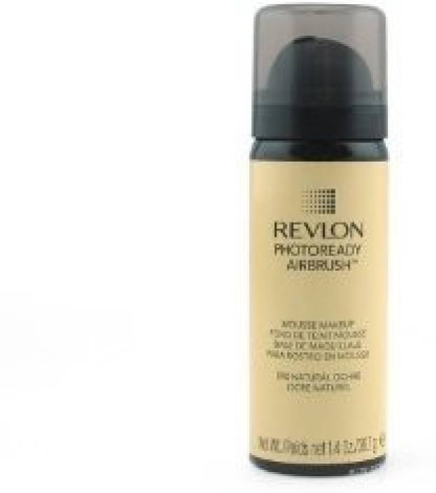 Revlon Photoready Airbrush Mousse Makeup Natural Ochre Foundation (Brown)