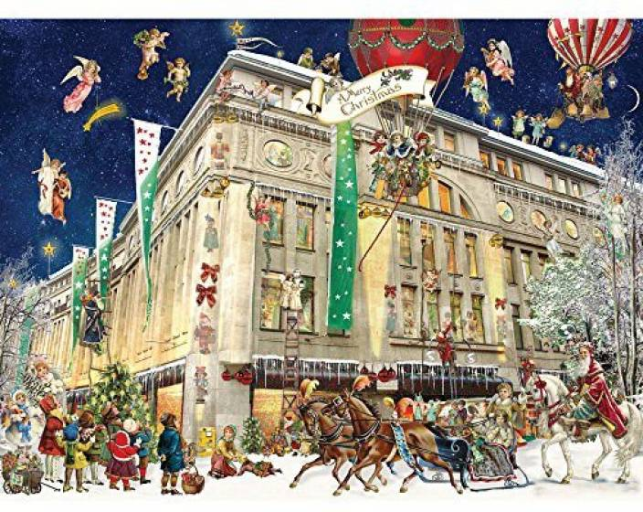 7be39f80f4d7 Bits and Pieces - 500 Piece Jigsaw Puzzle For Adults - Christmas In Cologne  - 500 Pc Germany Holiday Snow Jigsaw By Artist Barbara Behr (1 Pieces)