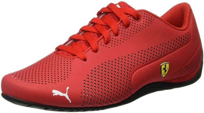 puma ferrari trainers red