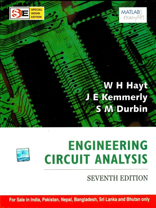 engineering circuit analysis buy engineering circuit analysis byengineering circuit analysis (english, paperback, hayt w)
