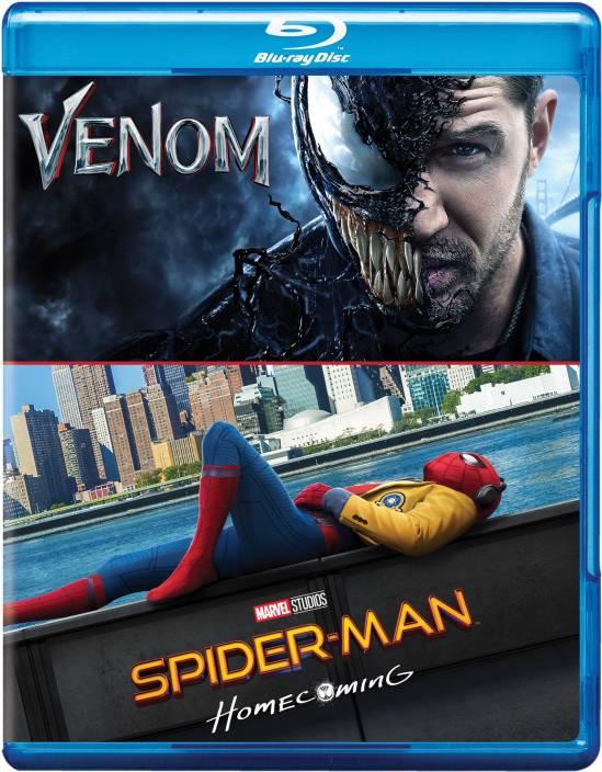 2 Superhero Movies Collection: Venom + Spider-Man