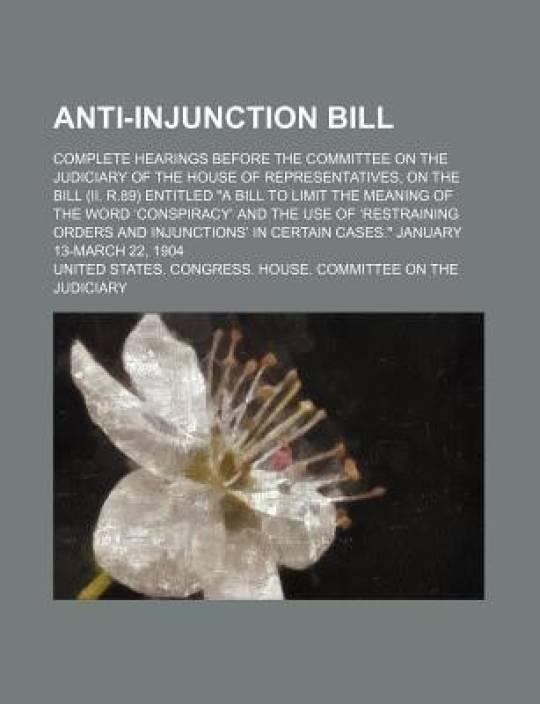 Anti-Injunction Bill