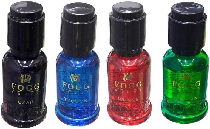Fogg Perfume Scent Czar, Prince, Sultan & Tycoon Scent 30ml x 4