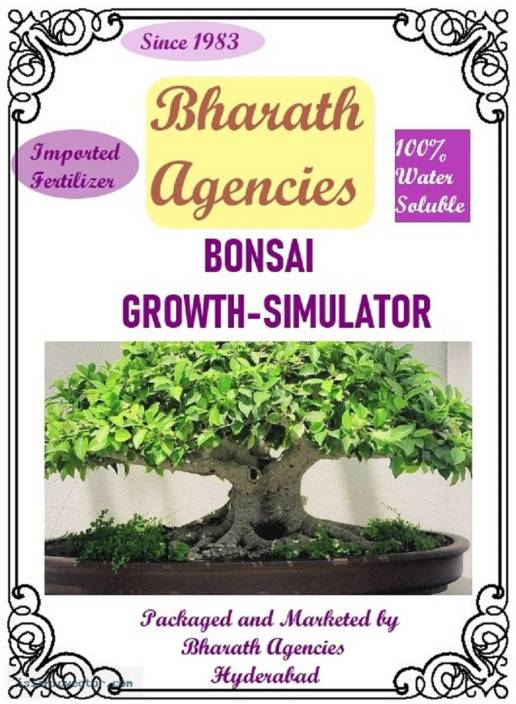 Bharath Agencies - Bonsai Tree Growth Simulator - Plant Food