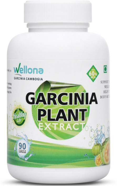 Wellona Garcinia Cambogia Plant Extract With 60 Hca For Weight Loss