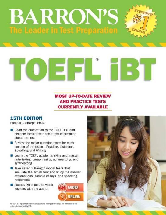 Barron's TOEFL iBT: Buy Barron's TOEFL iBT by Sharpe Pam at Low