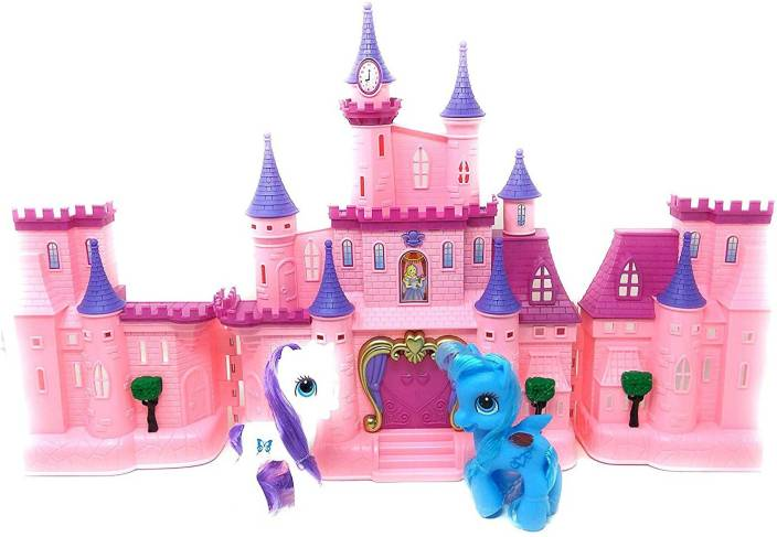 Miss & Chief Battery Operated Happy Princess Dream Castle Toy for