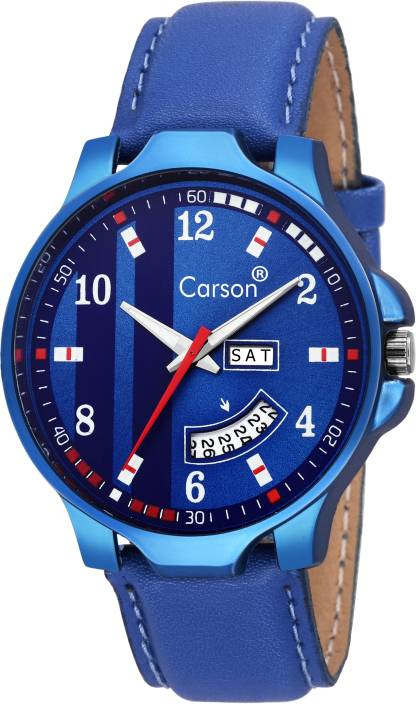 Carson CR8073 DayAndDate Functioning Watch - For Men
