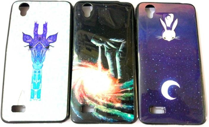 meet 8bf9e 00528 lite life Back Cover for vivo y31 soft back case cover printed 3pc ...