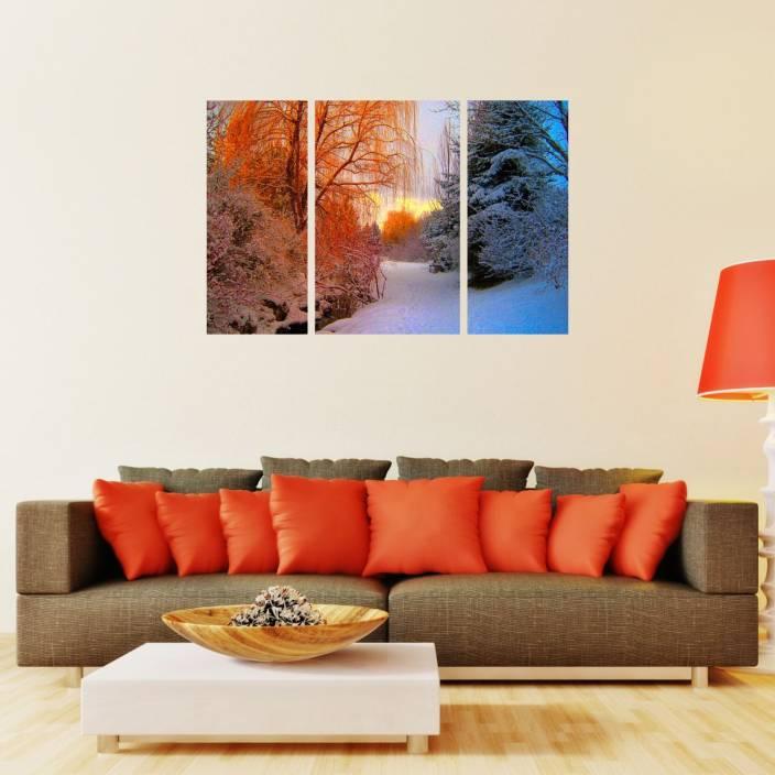 Om Digital Printers Multiple Frames Wall Paintings For Living Room