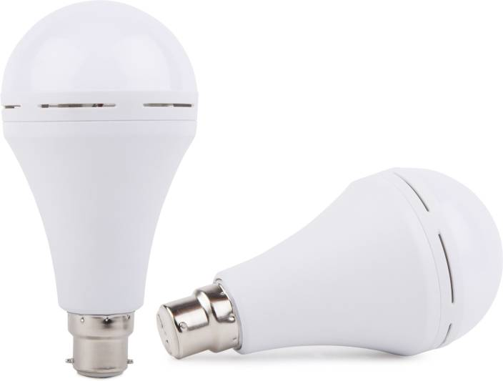 Adonai Rechargeable Emergency Bulb Light White Pack Of 2