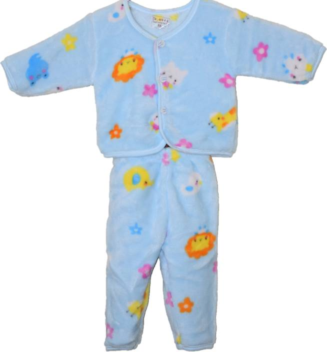 f97487799 Cuddly Baby Boys   Baby Girls Casual Top Pyjama Price in India - Buy ...