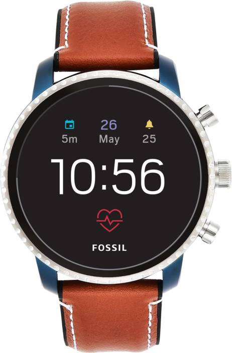 Fossil 4th Gen Explorist Hr Smartwatch Price In India Buy Fossil