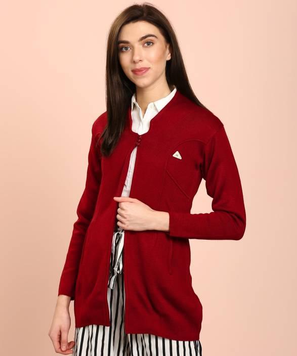 ad82039f324fc Monte Carlo Women s Button Cardigan Price in India - Buy Monte Carlo ...