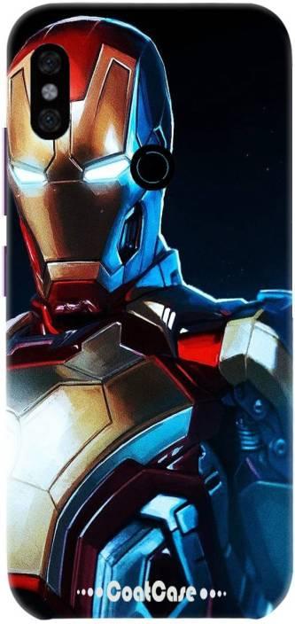 new product 26df6 51970 COATCASE Back Cover for Mi Redmi Note 5 Pro Iron man printed Matt ...