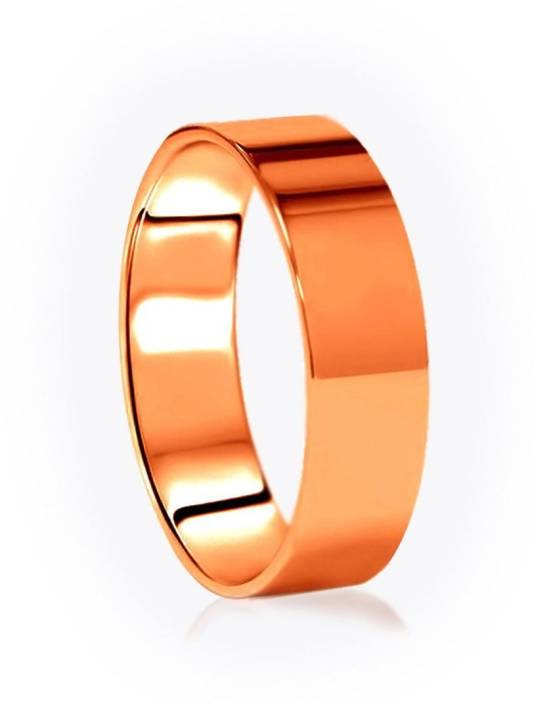 Sitare Broad Pure Copper Astrology Ring Size 13 Copper Ring