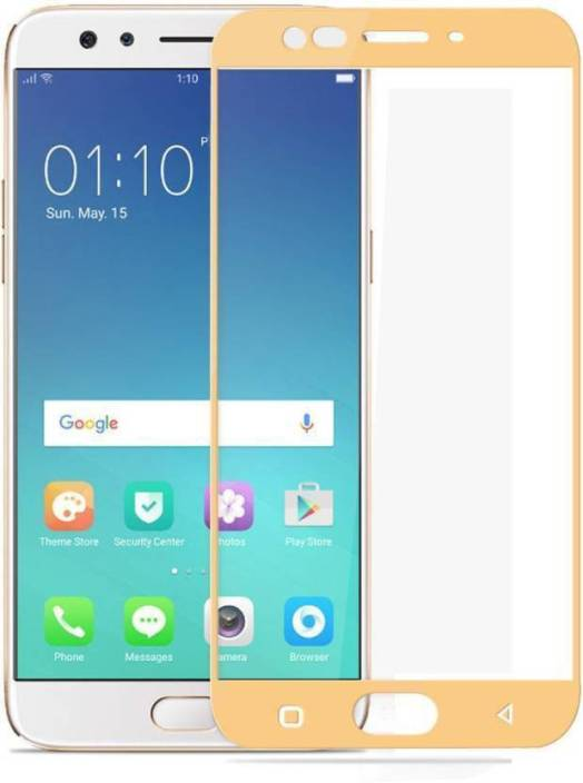 Tempered Glasses Edge To Edge Tempered Glass for Oppo F1s 3D