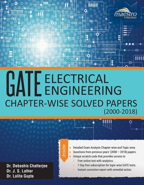 Wiley's GATE Electrical Engineering Chapter-Wise Solved