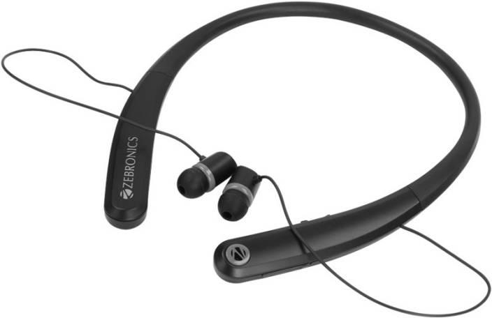 70dd3453f19 Zebronics ZEB-JOURNEY(GREY) Bluetooth Headset with Mic (graey, In the Ear)