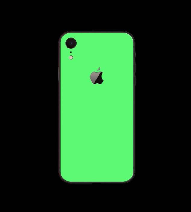 Gadgets Wrap Gw 184 Night Glow Green Skin For Apple Iphone