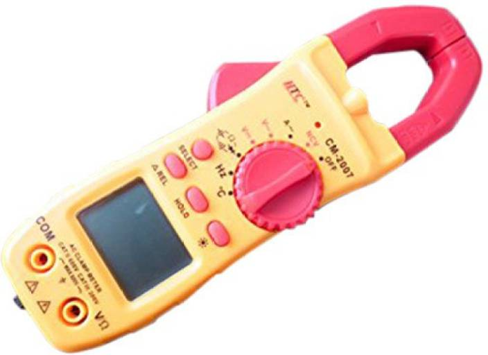 HTC CM-2007 AC Clamp Meter with Temperature & Frequency